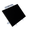 SP305-L Solar Panel attached to the 34493 Mounting Kit (sold separately)