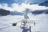 Energy flux station providing data for ecological research in the McMurdo Dry Valleys, Antarctica (Photo courtesy of Gayle Dana, Desert Research Institute)