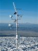 The Nevado Sajama weather station measures a variety of meteorological and snow parameters, many redundantly, to ensure data capture and integrity.