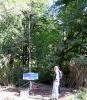 Rock Creek instrumentation stand w/ antenna & solar panel*
