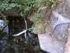 Sensor stand at Rock Creek tributary