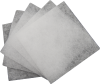 Set of five replacement fan filters