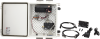 ATP100 enclosure with RF422 spread-spectrum radio and 12 Vdc 7 amp-hour back-up battery