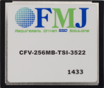 CFMC256M 256M CompactFlash Memory Card (-40 to +85C)