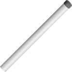 CM300 23 in. Mounting Pole with Cap