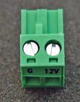 3768 2-pin screw terminal plug connector