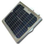 sp5 5 w solar panel with connector for enc200 and turfweather stations