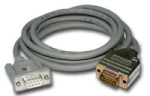 sc929 interface cable, cs i/o to rs-232