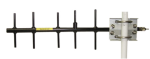14201 900 mhz 9 dbd yagi antenna with mounting hardware
