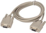 13657 Null Modem Cable, 9-Pin Female to 9-Pin Female