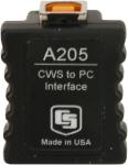 a205 cws sensor to pc interface