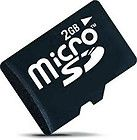 27158 2 GB microSD Flash SLC Memory Card