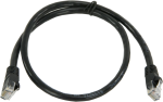 28899 cat6 ethernet unshielded cable with rj45 connectors, 2 ft