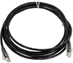 28900 cat5e ethernet unshielded cable with rj45 connectors, 10 ft