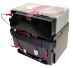 bp24 24 ah 12 v sealed rechargeable battery with mounts