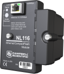 nl116 interface ethernet et module compactflash
