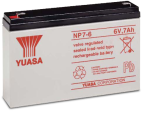 8219 6 v 7 ah lead acid battery