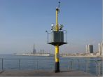 badalona oil pier-based met-ocean monitoring station