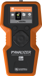 vwanalyzer vibrating wire analyzer with carrying case and sensor cable