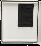 28701 Enclosure Desiccant and Document Holder Installed in Enclosure Lid