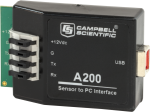 a200 sensor to pc interface