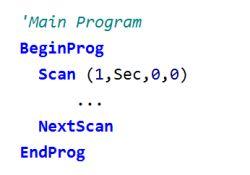 datalogger programming