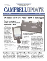 campbell update 3rd quarter 2001