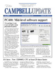 campbell update 3rd quarter 2004