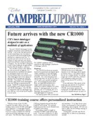 campbell update 1st quarter 2005