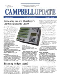 campbell update 1st quarter 2006