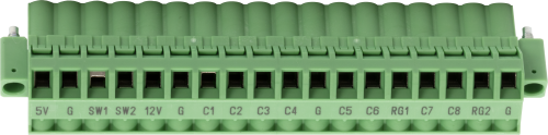 31678 CR1000X Replacement Connectors Power Out and Communications