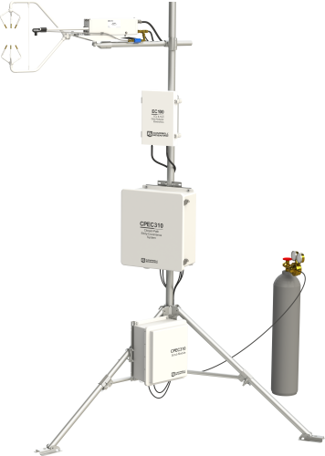 CPEC310 Expandable Closed-Path Eddy-Covariance System with Automatic Zero and Span