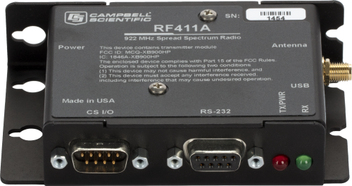 RF411A 922 MHz Spread-Spectrum Radio