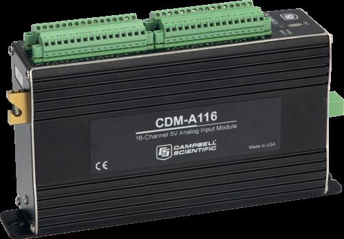 CDM-A116 Module d'entrée analogique 16 voies simultanées, ±5V