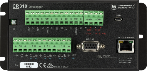 CR310 Datalogger with Ethernet