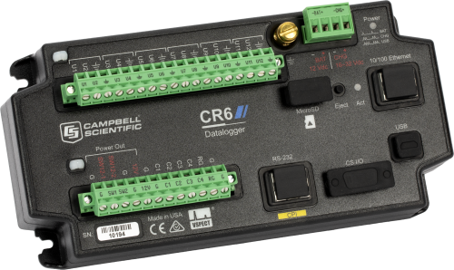 CR6: Measurement and Control Datalogger