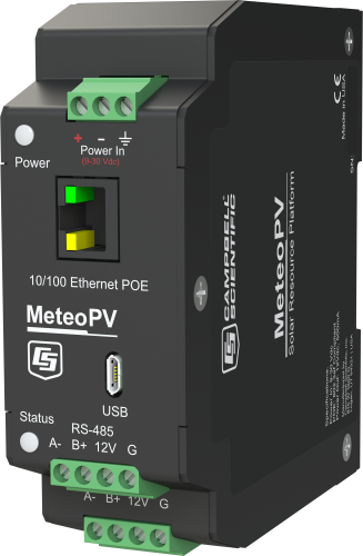MeteoPV Distributed Solar Resource Monitoring Platform