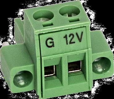 34943 2-Pin Screw Terminal Plug Connector