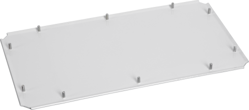 18970 Blank Connector Panel for the 18997 14/188 Aluminum Enclosure