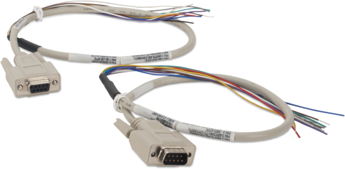 SC110 Two Cables, RS-232 to Data Logger Control Port