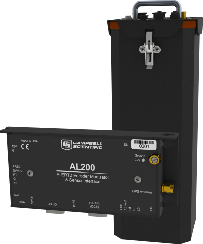 ALERT121A Standard Remote Data Platform with CR800 and AL200