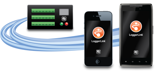 LoggerLink Mobile Apps for iOS and Android