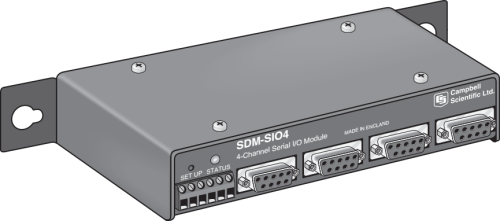 SDM-SIO4 4-Channel Serial I/O Module
