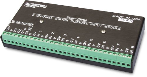 SDM-SW8A 8-Channel Switch Closure Input Module