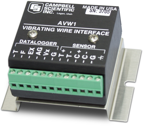 AVW1 Interface for Vibrating-Wire Sensors