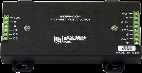 SDM-AO4 Analog Output Module