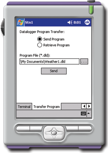PCONNECTCE PocketPC Datalogger Software with Connector and Cable