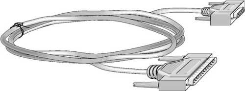 7026 RS-232 Data Cable, DB9 Female to DB25 Male