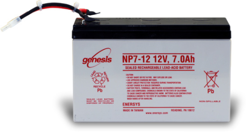 17894 Replacement 7 Ah Sealed Rechargeable Battery for PS12LA or PS512M