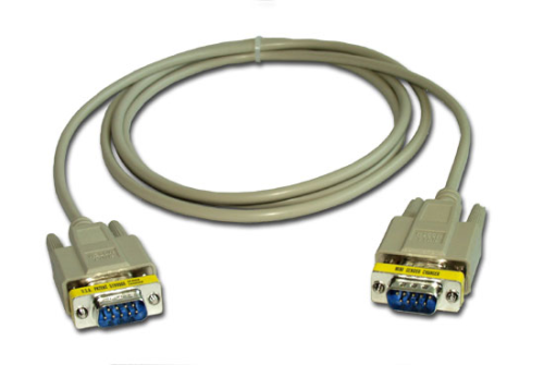 14392 Null Modem Cable, 9-pin Male to 9-pin Male